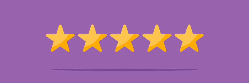 5 start rating