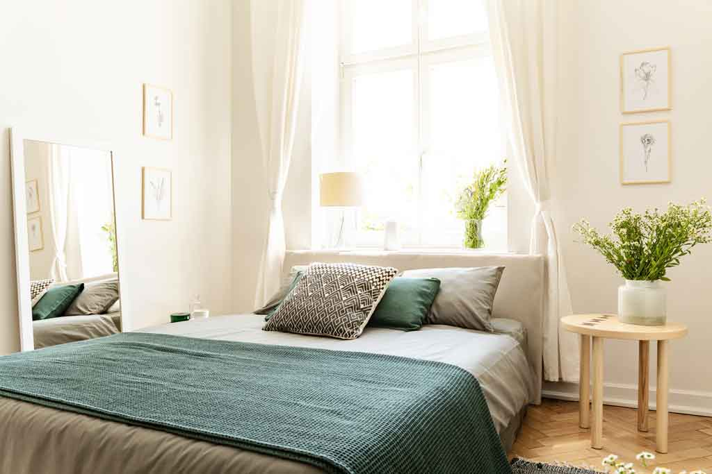 bedroom virtual viewing