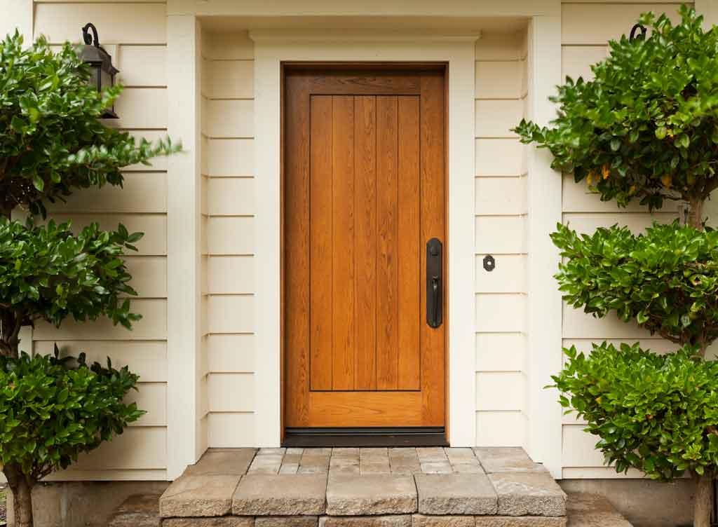 start virtual viewing from front door