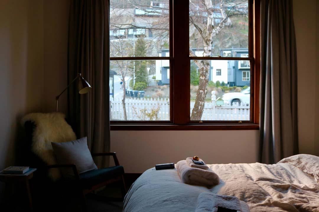 bedroom at rental property viewings