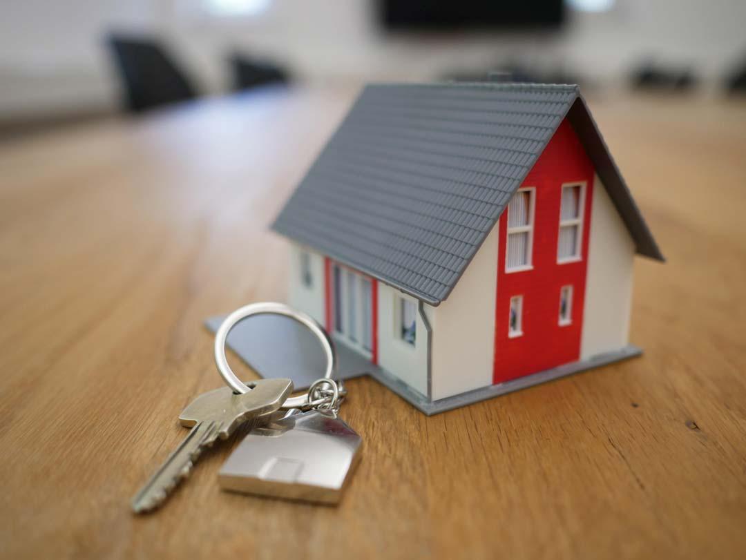 Key for rental property viewings