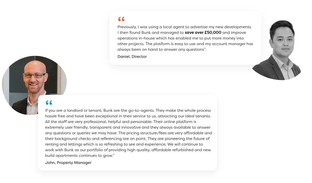 Testimonials about residential property management